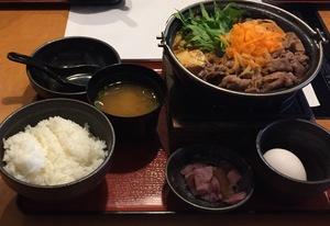 どん亭牛すき鍋膳